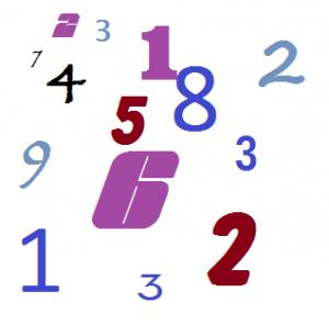 Numérologie 2012