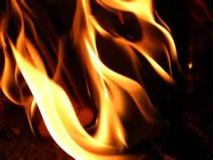 représentation d'une flamme