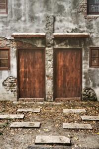 Maison cimetière